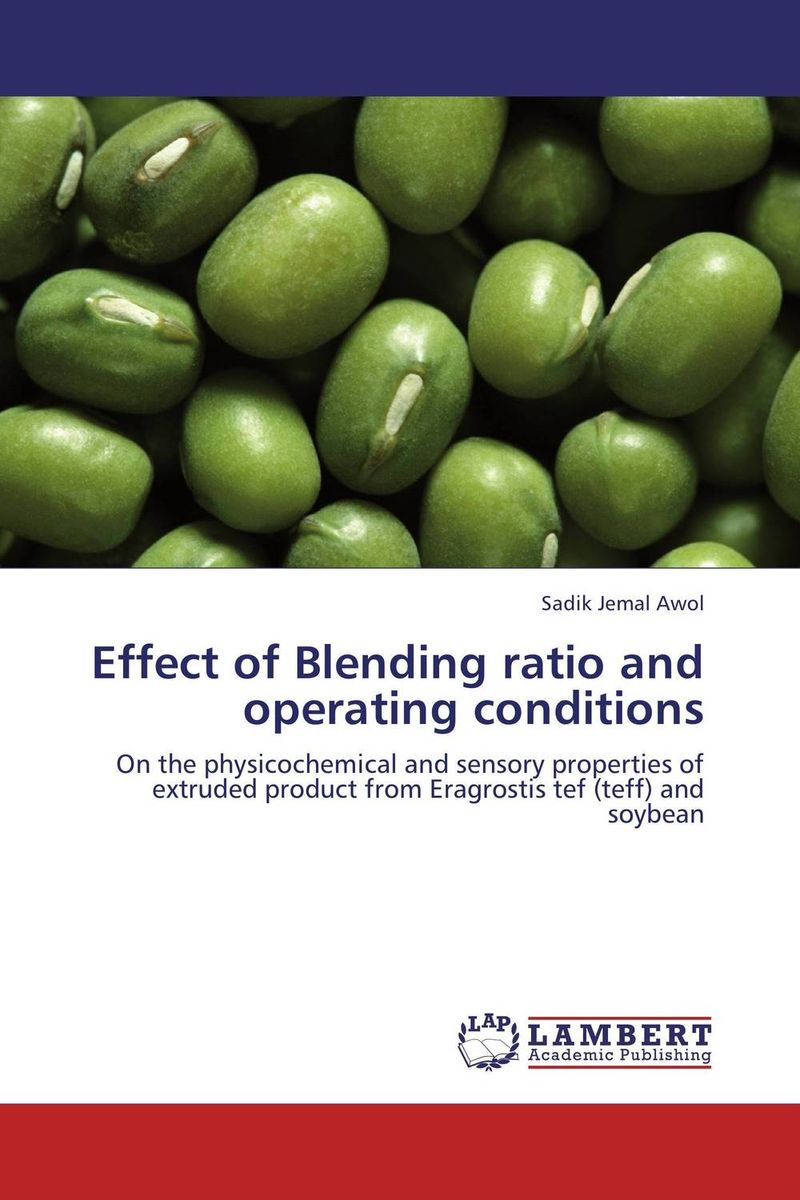 Effect of Blending ratio and operating conditions rohit r limbachiya vaibhav j limbachiya and yashesh a darji experimental investigation of twin screw extruder machine