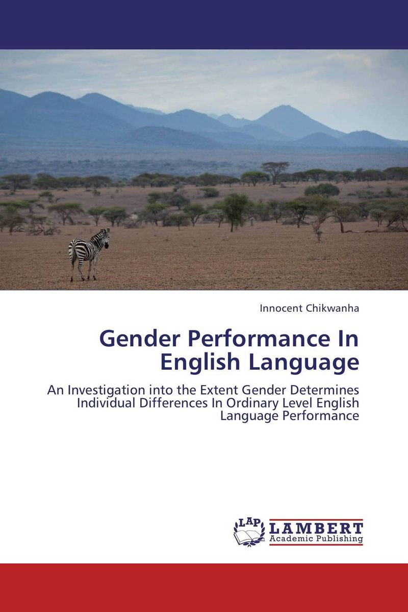 Gender Performance In English Language language change and lexical variation in youth language