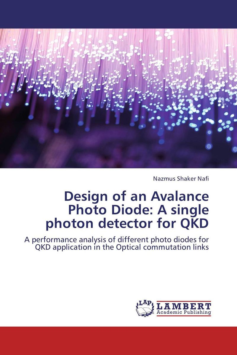 Design of an Avalance Photo Diode: A single photon detector for QKD higher than the eagle soars a path to everest