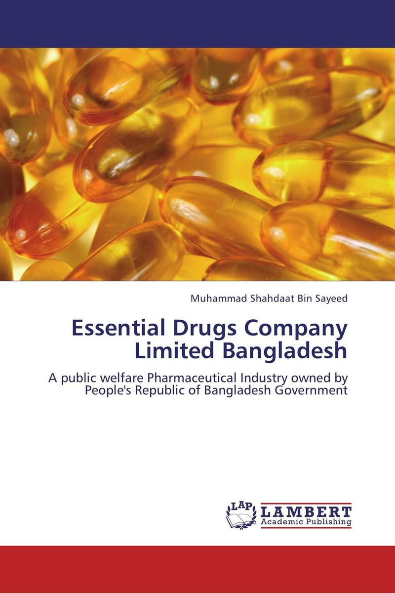 Essential Drugs Company Limited Bangladesh impurity profiling of drugs and pharmaceuticals