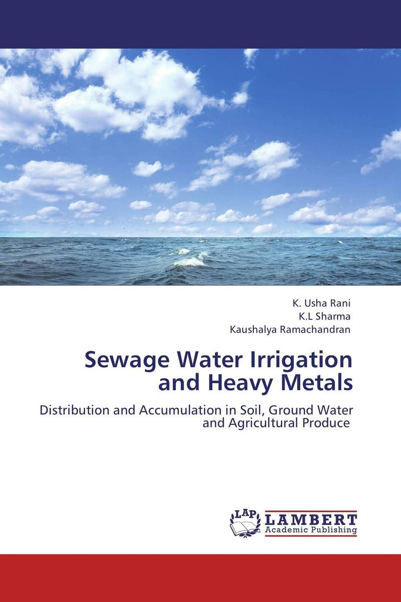 Sewage Water Irrigation and Heavy Metals surface and ground water interaction