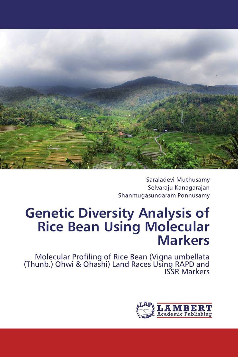 Genetic Diversity Analysis of Rice Bean Using Molecular Markers chethan kumar m r rajendra prasad s and radha b n identificaction and standerdization of molecular markers