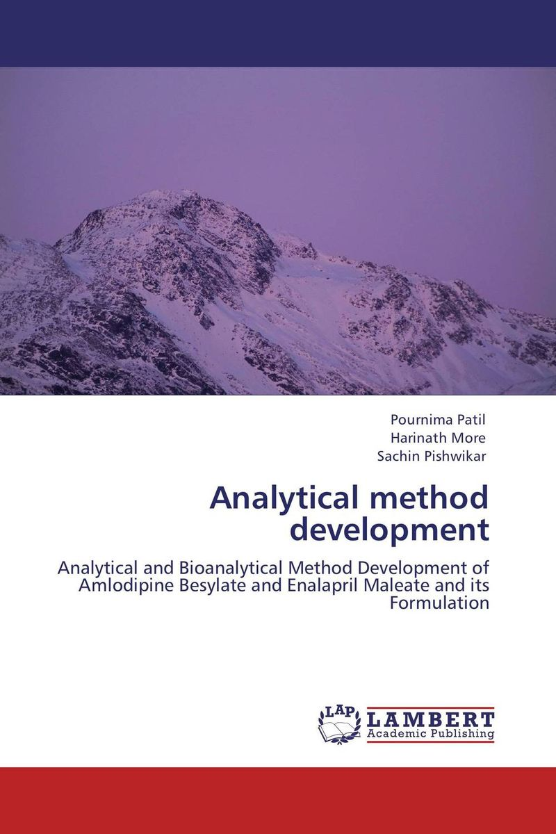 Analytical method development analytical method development