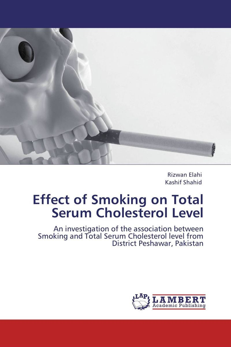 Effect of Smoking on Total Serum Cholesterol Level almea h a serum