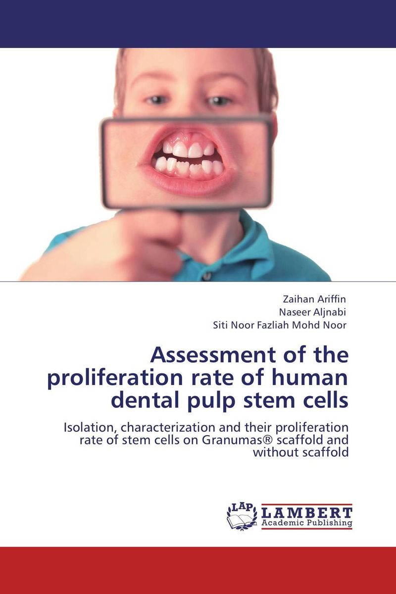 Assessment of the proliferation rate of human dental pulp stem cells electrochemistry of human dental enamel