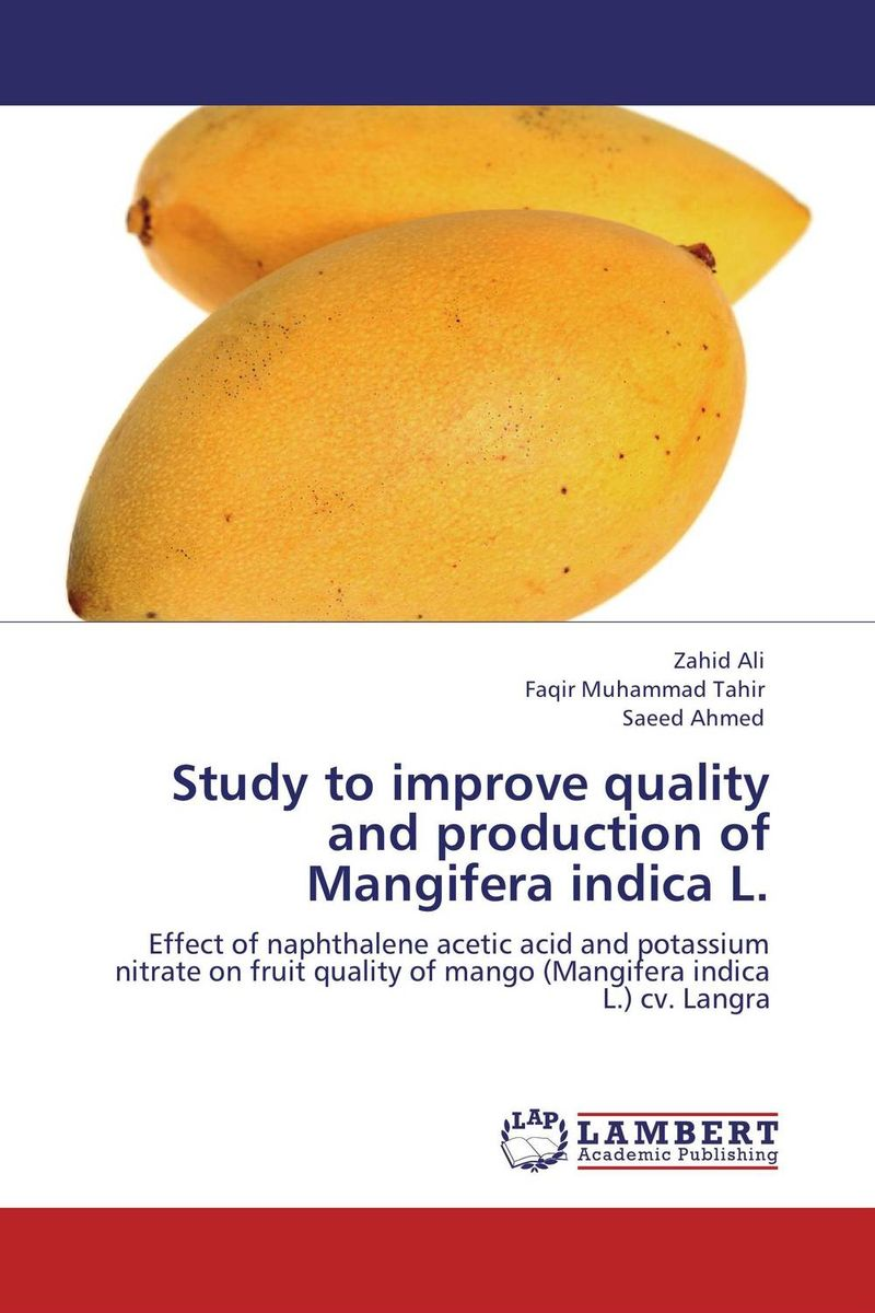 Study to improve quality  and production of  Mangifera indica L. купить