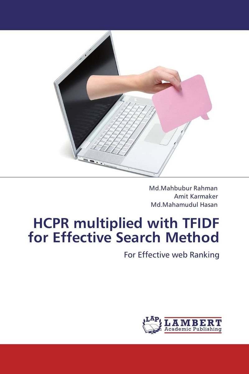 HCPR multiplied with TFIDF for Effective Search Method the effective method for atmosphere co purification