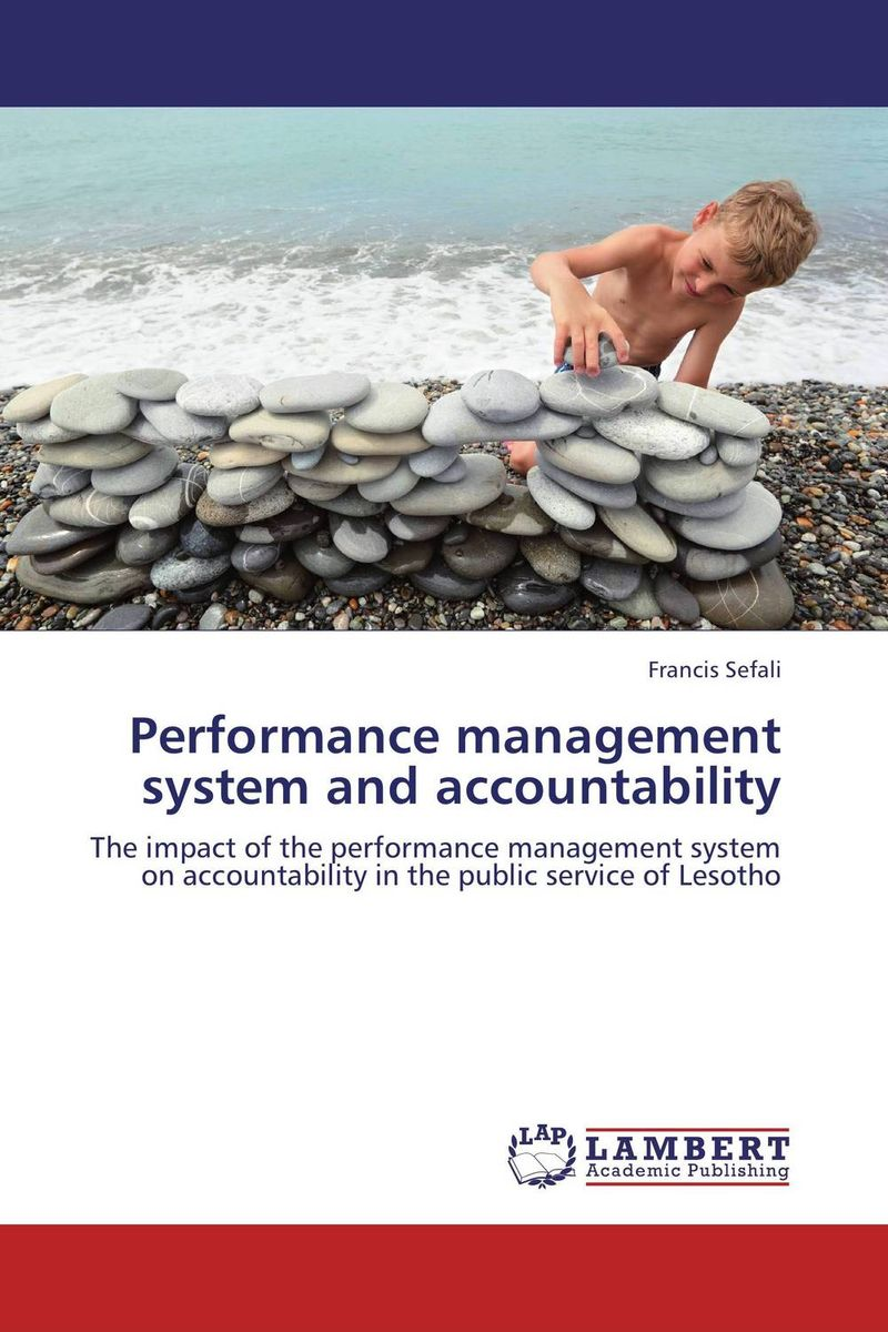 Performance management system and accountability public sector management techniques