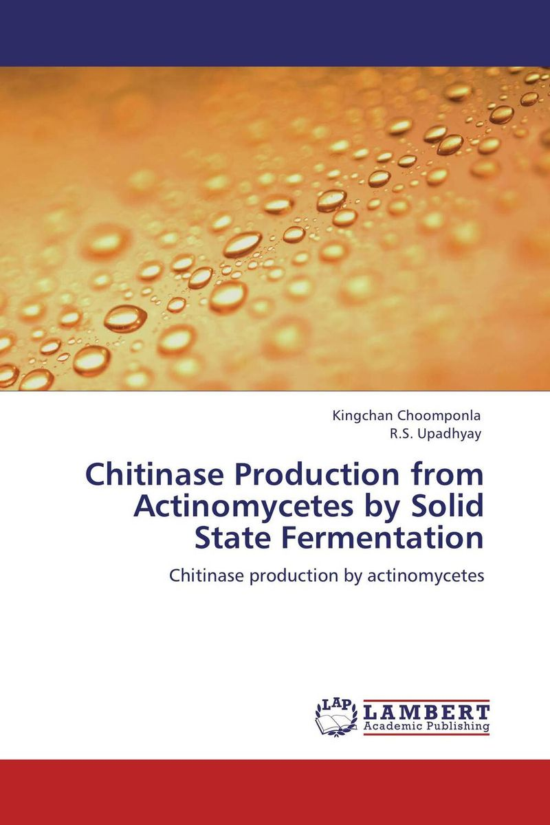 Chitinase Production from Actinomycetes by Solid State Fermentation augmented cellulase production by mutagenesis of trichoderma viride