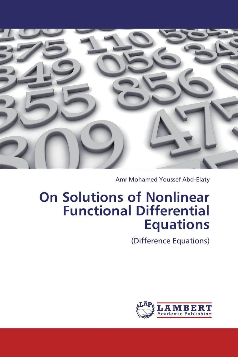 On Solutions of Nonlinear Functional Differential Equations купить