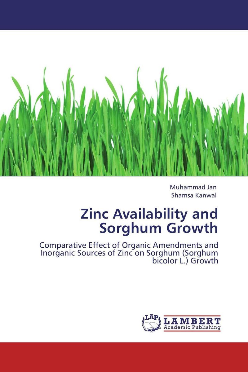 Zinc Availability and Sorghum Growth zinc and fym in rice wheat crop rotation