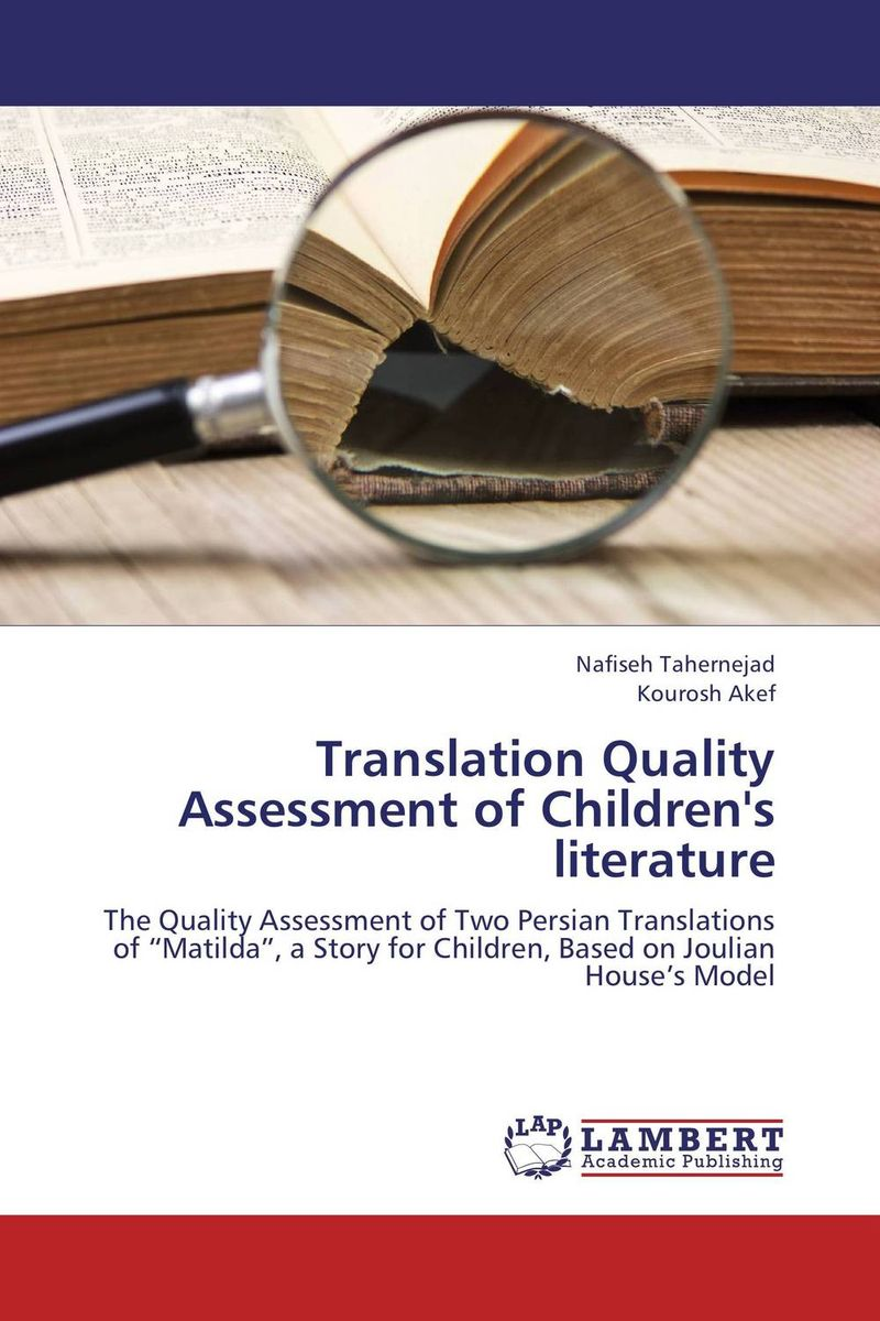Translation Quality Assessment of Children's literature the handbook of translation and cognition
