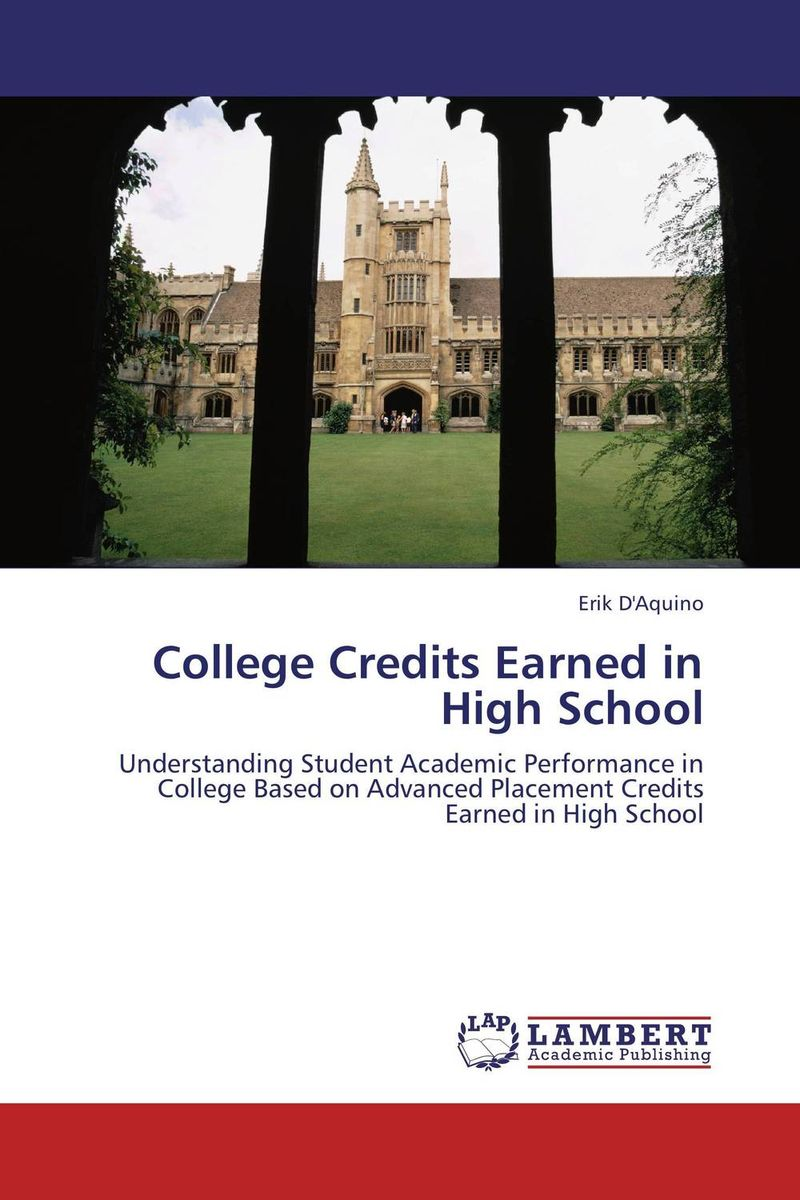 College Credits Earned in High School