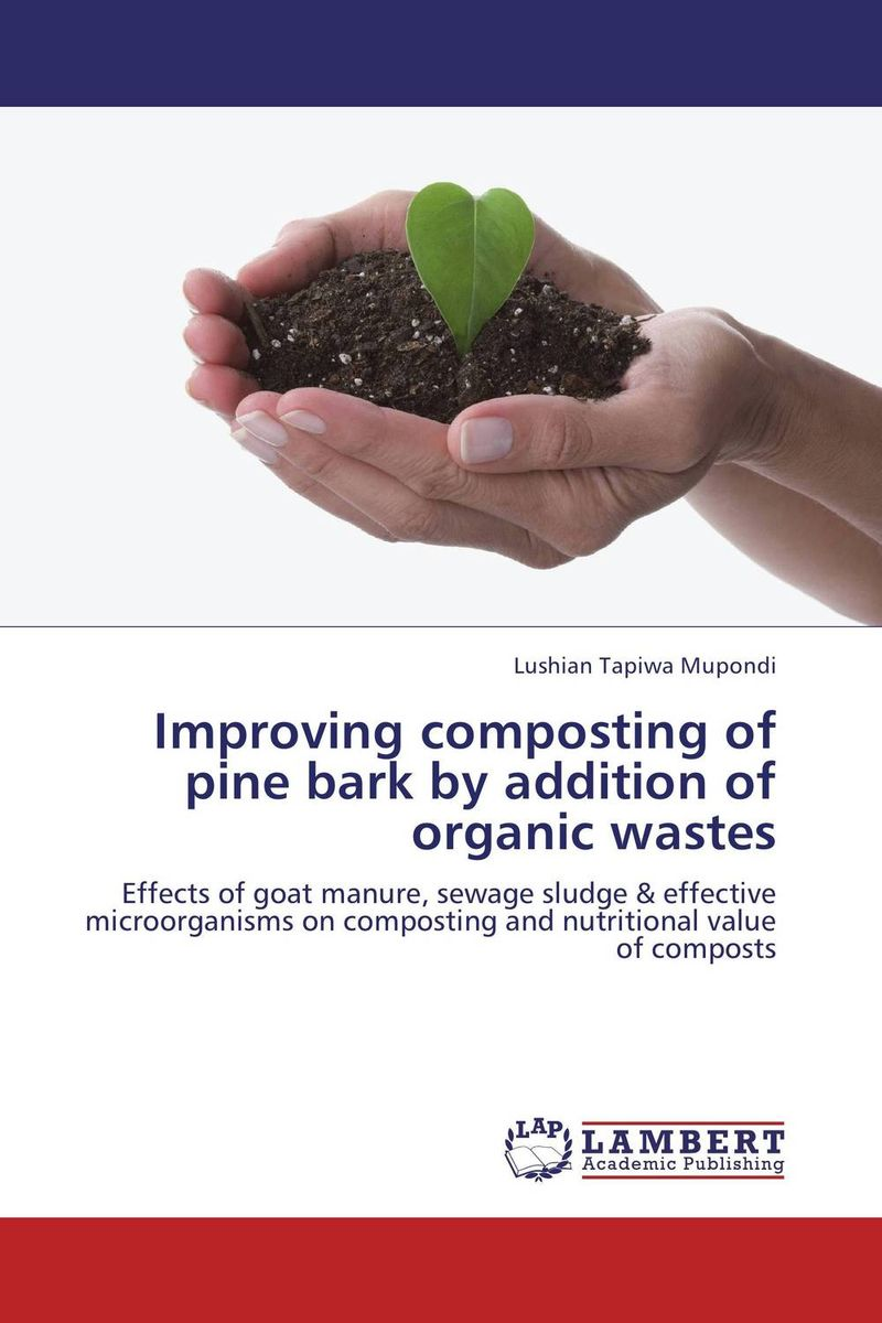 Improving composting of pine bark by addition of organic wastes
