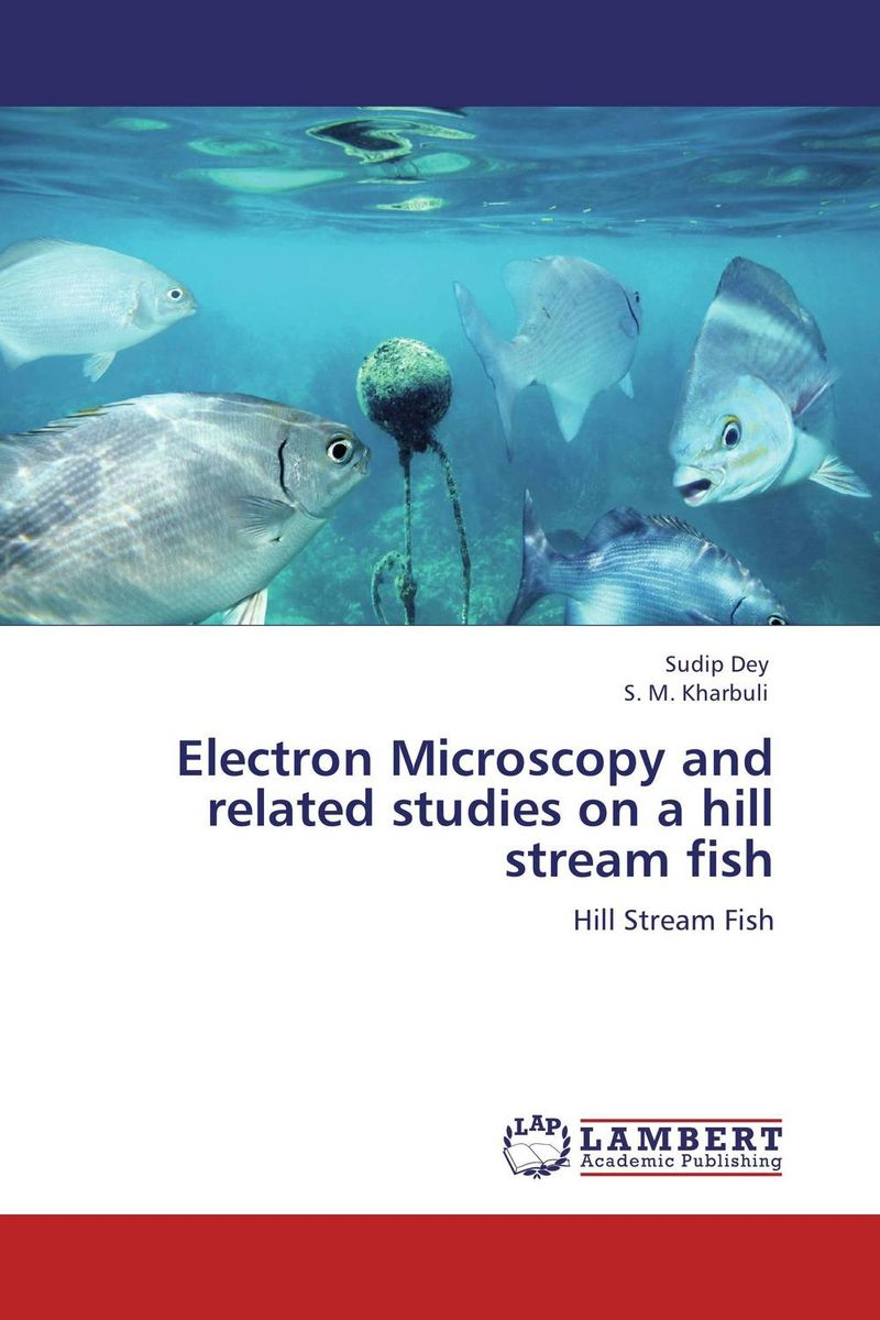 Electron Microscopy and related studies on a hill stream fish islands in the stream