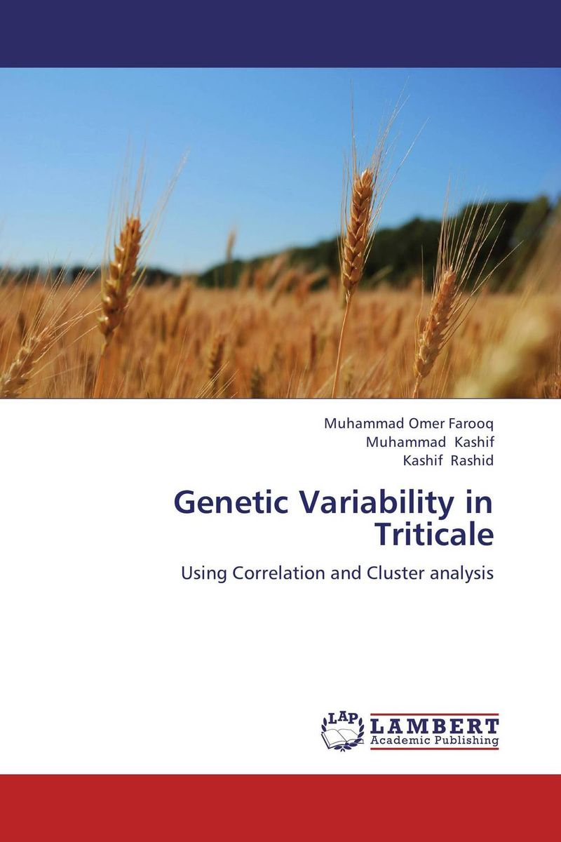 Genetic Variability in Triticale correlation among