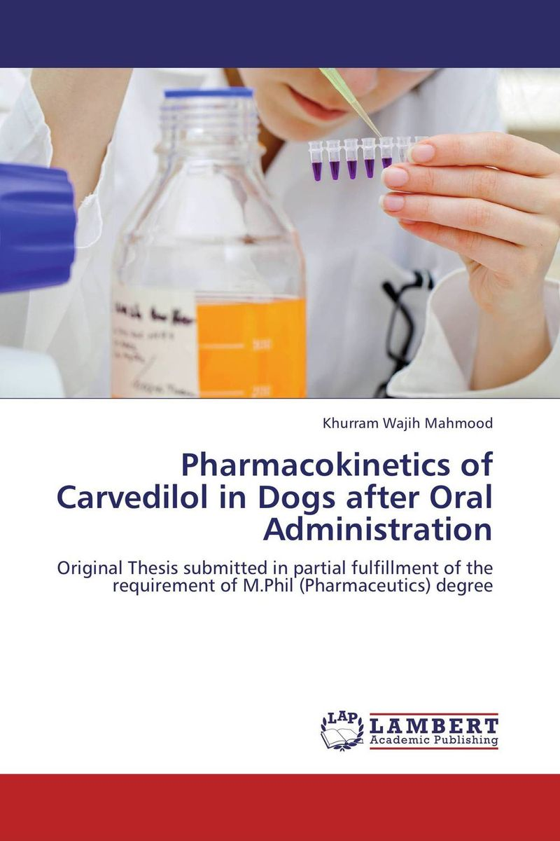 Pharmacokinetics of Carvedilol in Dogs after Oral Administration an area of darkness