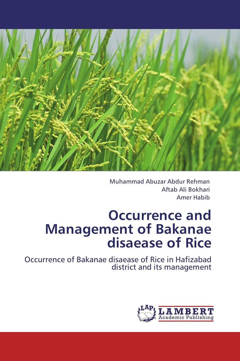Occurrence and Management of Bakanae disaease of Rice k r k naidu a v ramana and r veeraraghavaiah common vetch management in rice fallow blackgram