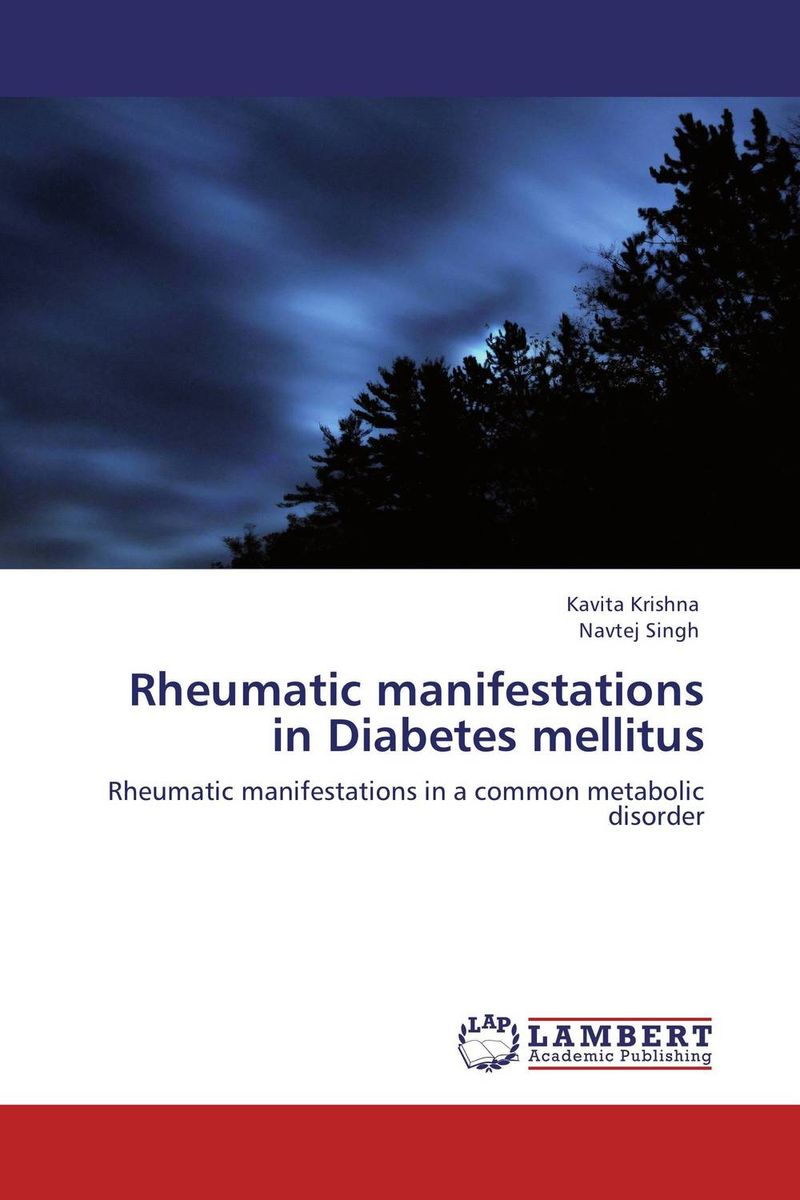 Rheumatic manifestations in Diabetes mellitus periodontal therapy and type ii diabetes mellitus