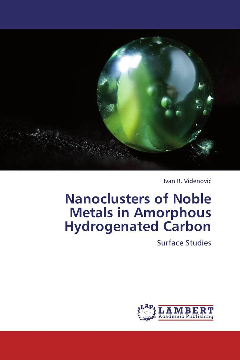 Nanoclusters of Noble Metals in Amorphous Hydrogenated Carbon induced transformation in amorphous chalcogenides