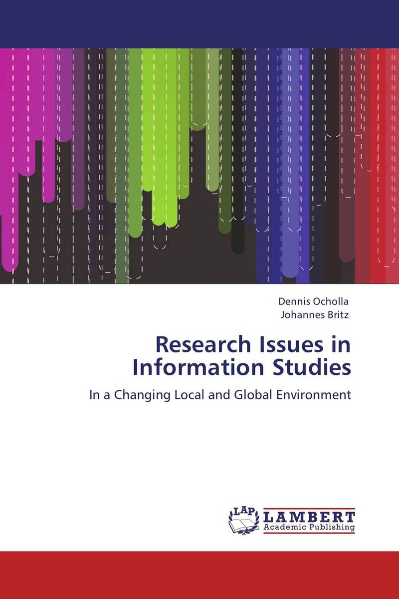 Research Issues in Information Studies environment science issues solutions