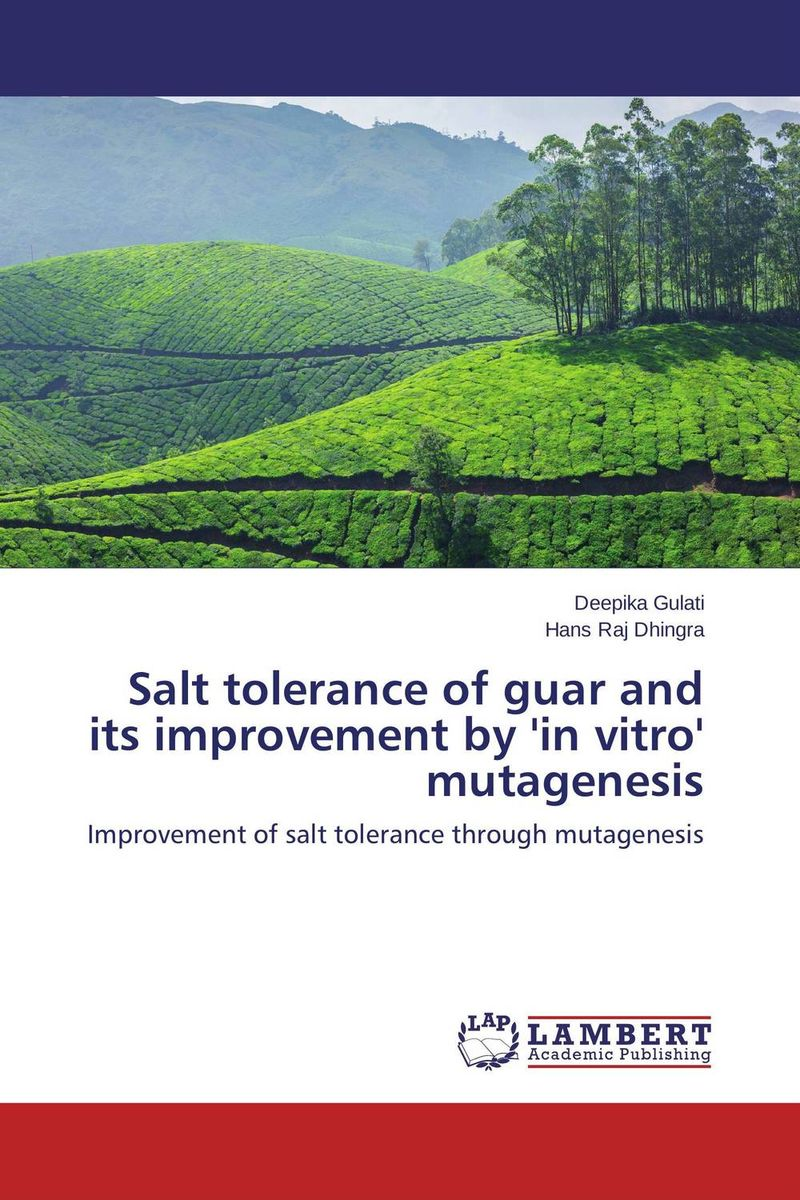 Salt tolerance of guar and its improvement by 'in vitro' mutagenesis amber sattar and muhammad asif genetics of salinity tolerance in okra