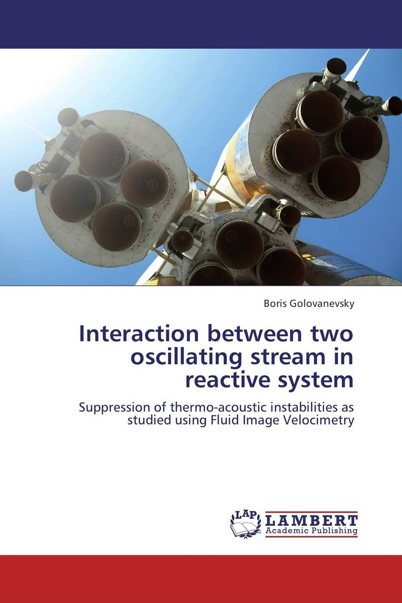 Interaction between two oscillating stream in reactive system performance or instability