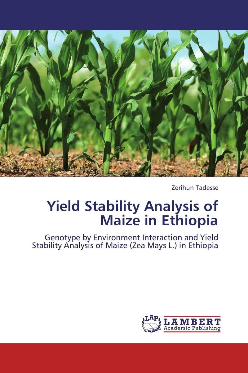 Yield Stability Analysis of Maize in Ethiopia stem bromelain in silico analysis for stability and modification