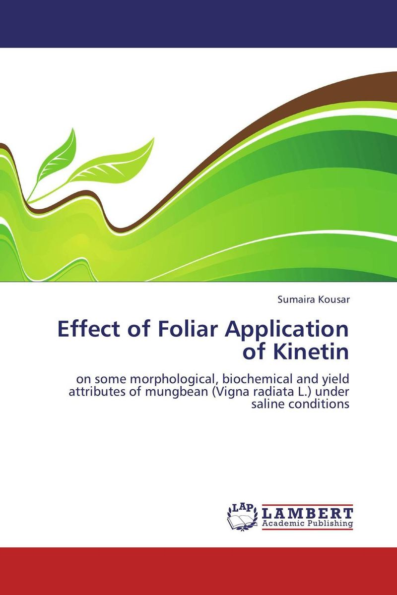 Effect of Foliar Application of Kinetin environmental effects on photosynthesis of c3 plants