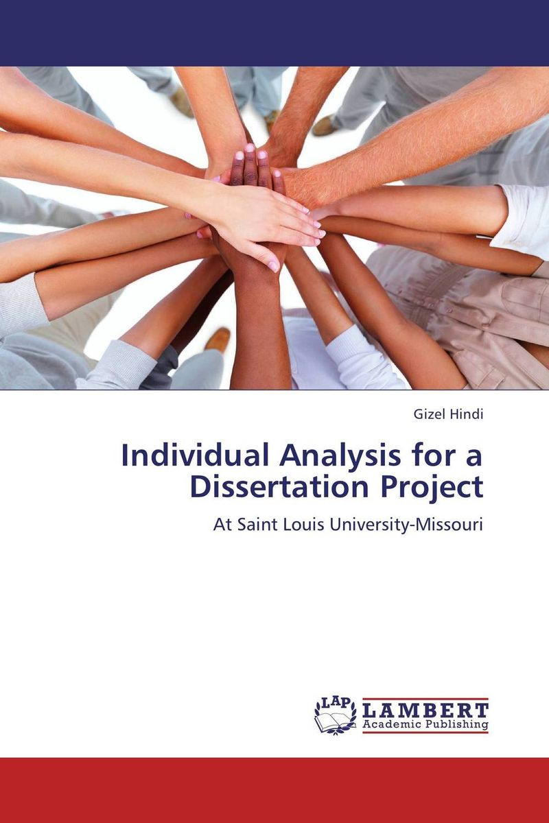 Individual Analysis for a Dissertation Project