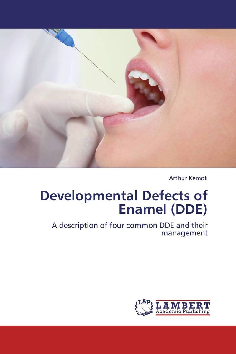 Developmental Defects of Enamel (DDE) electrochemistry of human dental enamel
