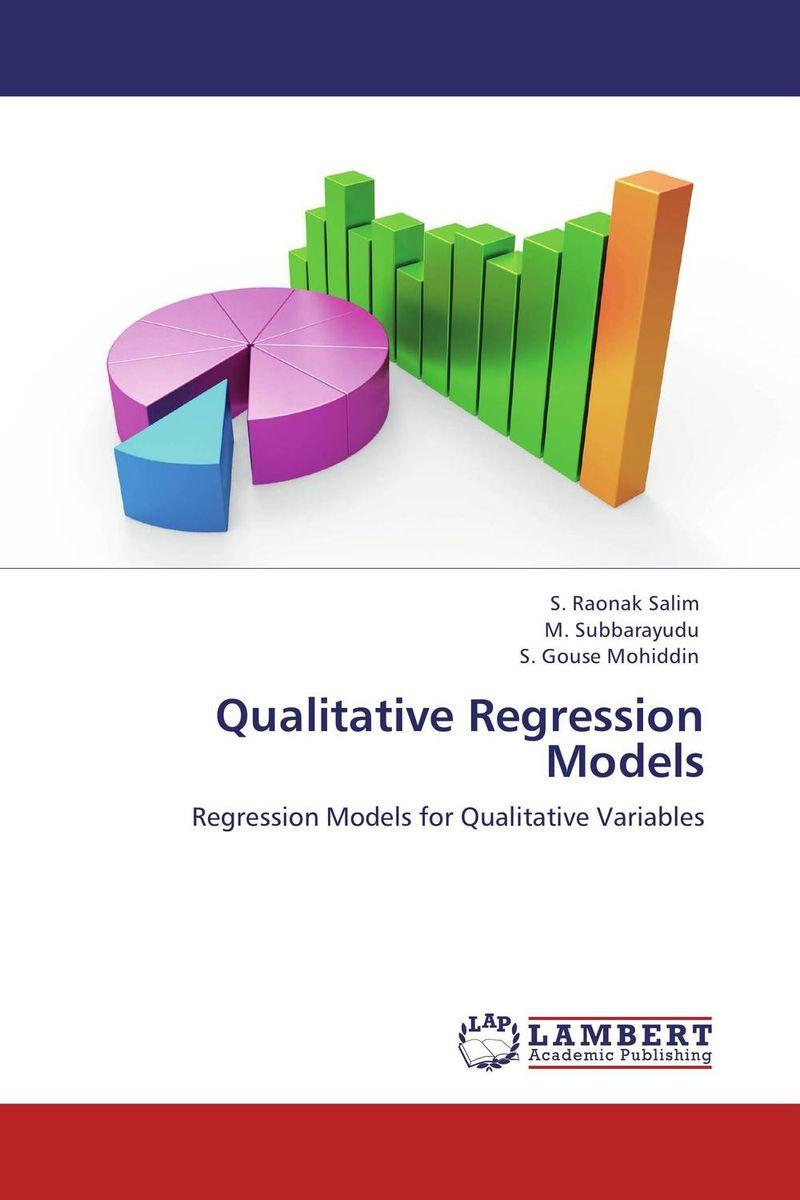 Qualitative Regression Models linear regression models with heteroscedastic errors
