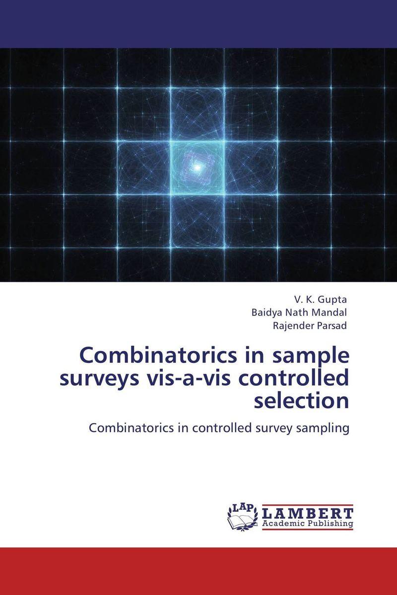 Combinatorics in sample surveys vis-a-vis controlled selection efficient importance sampling in applied econometrics