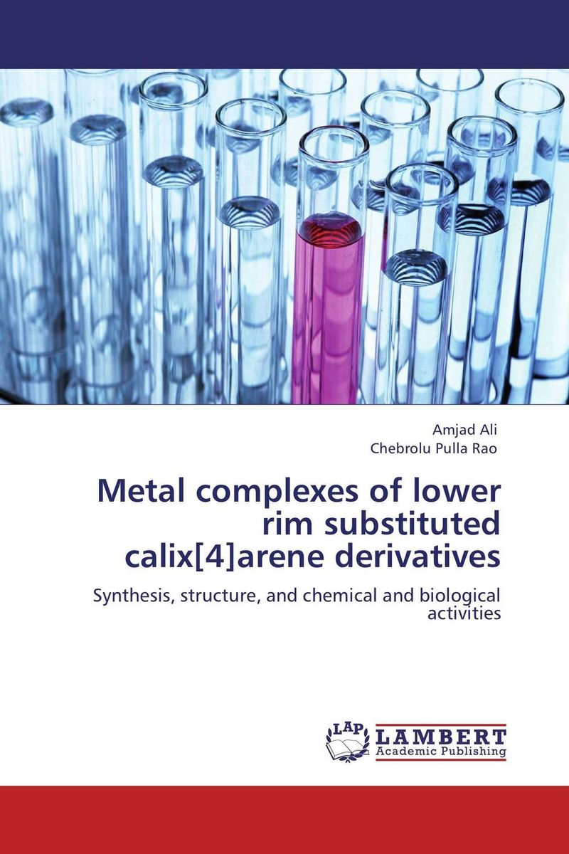 Metal complexes of lower rim substituted calix[4]arene derivatives rakesh kumar amrit pal singh and sangeeta obrai computational and solution studies of cu ii ions with podands