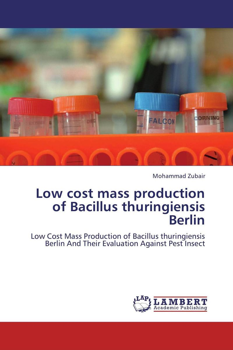 Low cost mass production of Bacillus thuringiensis Berlin microbial production of amylase in bacillus cereus sp