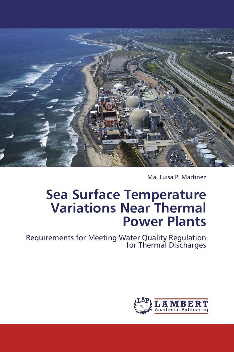 Sea Surface Temperature Variations Near Thermal Power Plants