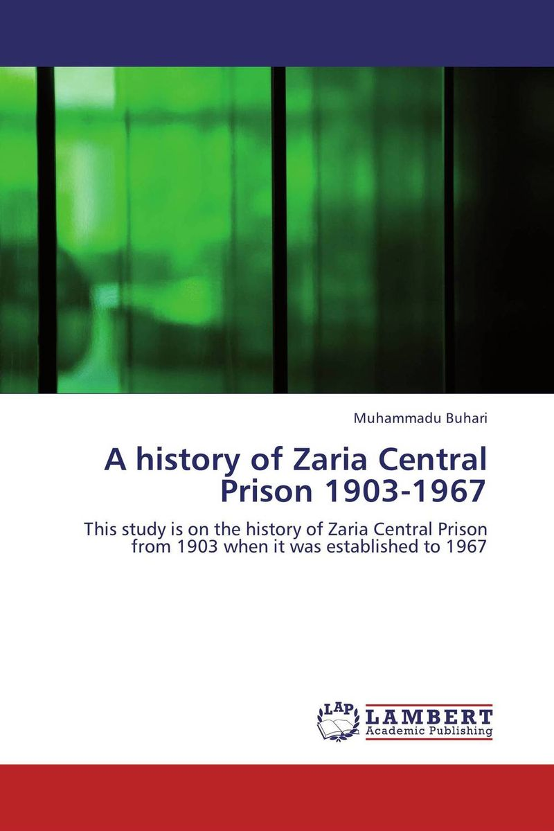 A history of Zaria Central Prison 1903-1967 reforms in the irrigation system in punjab