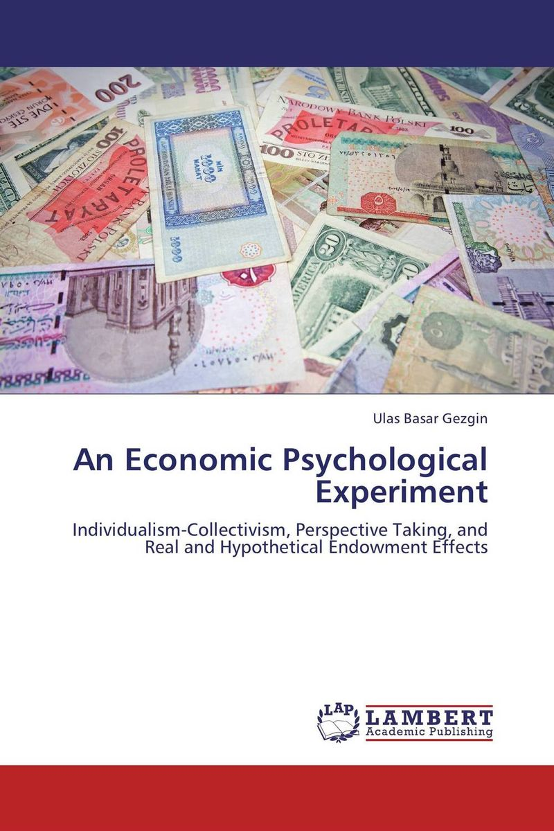 An Economic Psychological Experiment waqf the islamic endowment