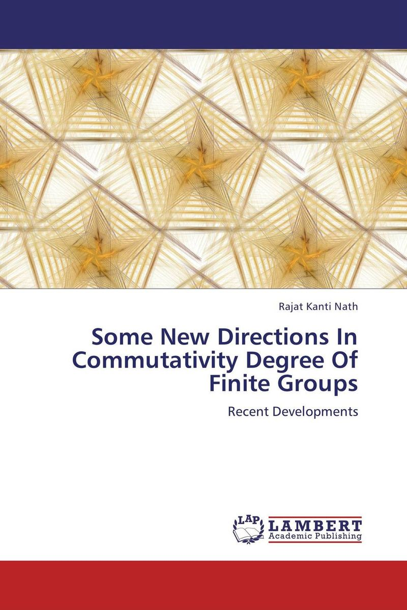 Some New Directions In Commutativity Degree Of Finite Groups летняя шина kumho ecowing es01 kh27 195 60 r15 88h
