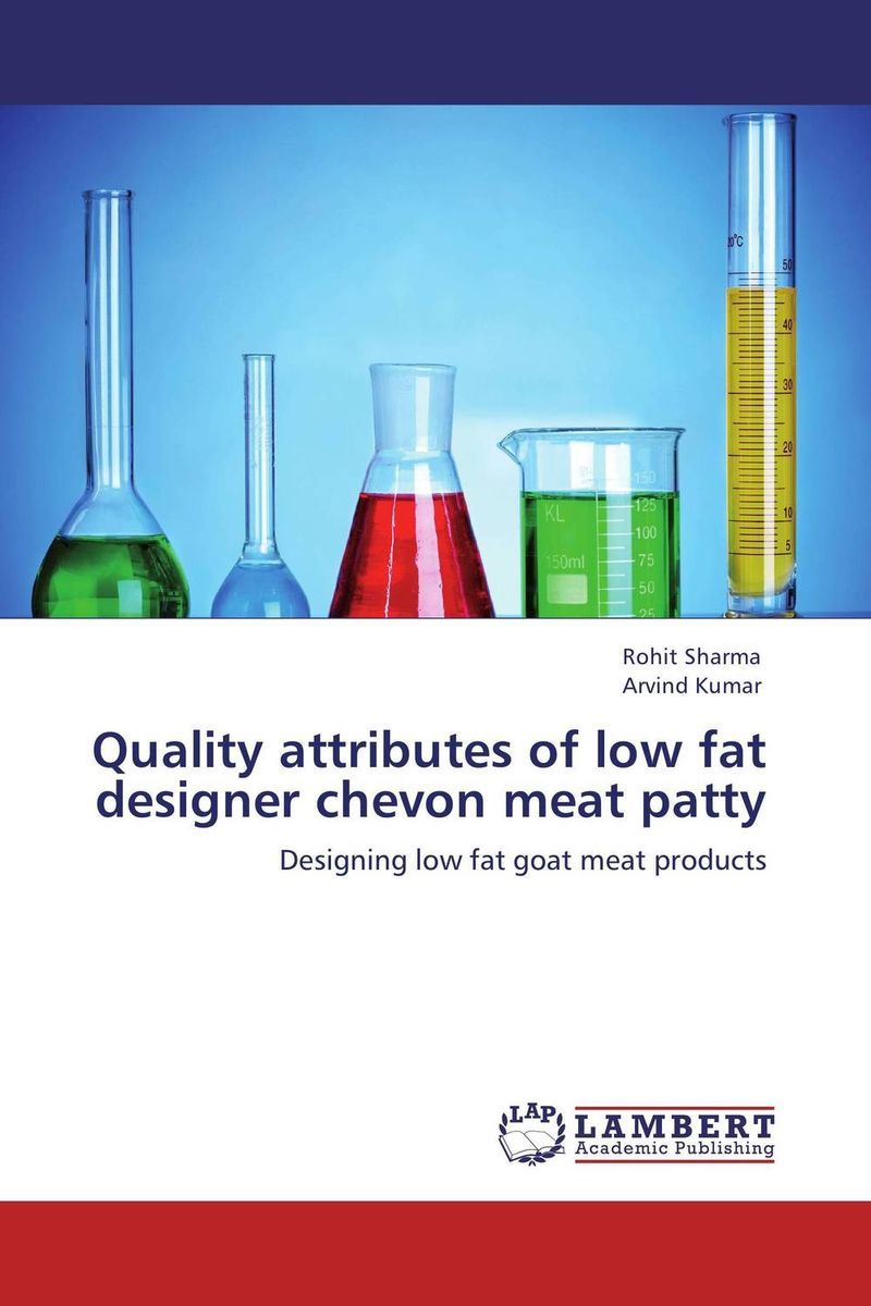 Quality attributes of low fat designer chevon meat patty found in brooklyn