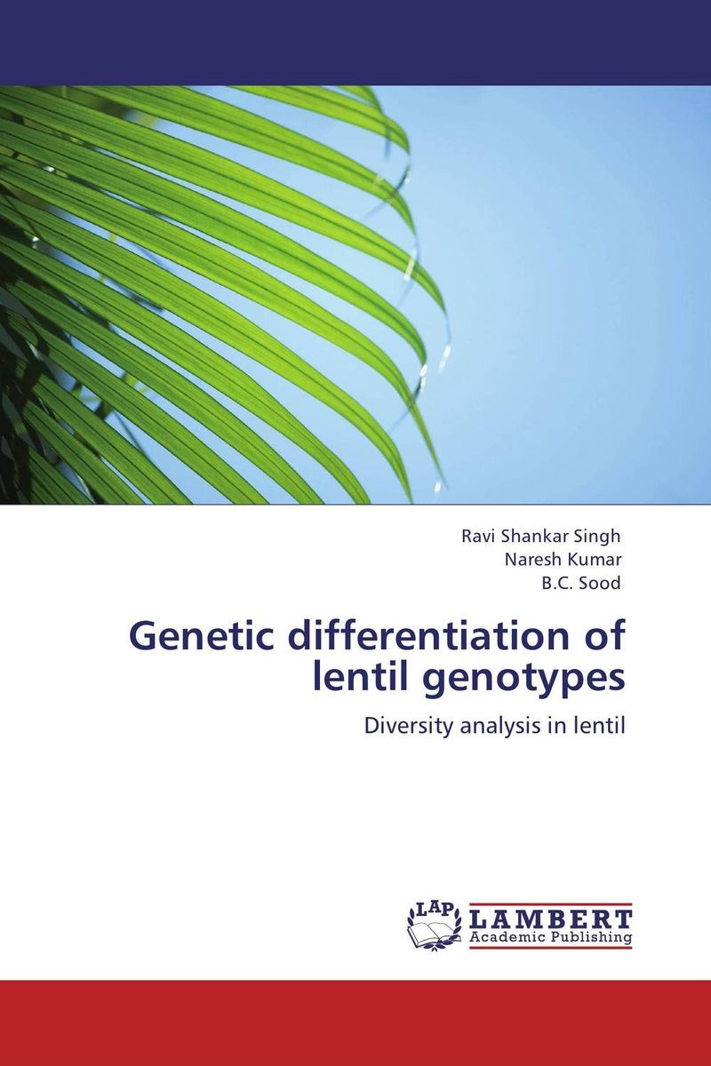 Genetic differentiation of lentil genotypes plant genetic resources