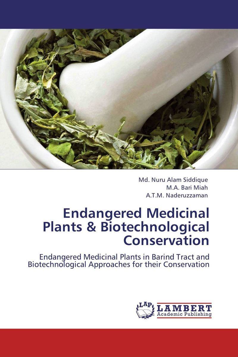 цены Endangered Medicinal Plants & Biotechnological Conservation