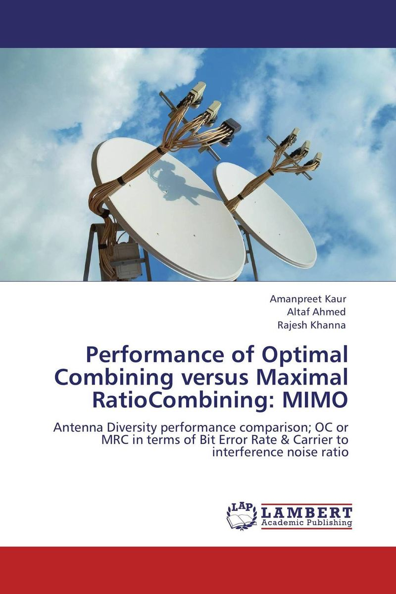 Performance of Optimal Combining versus Maximal RatioCombining: MIMO optimal and efficient motion planning of redundant robot manipulators