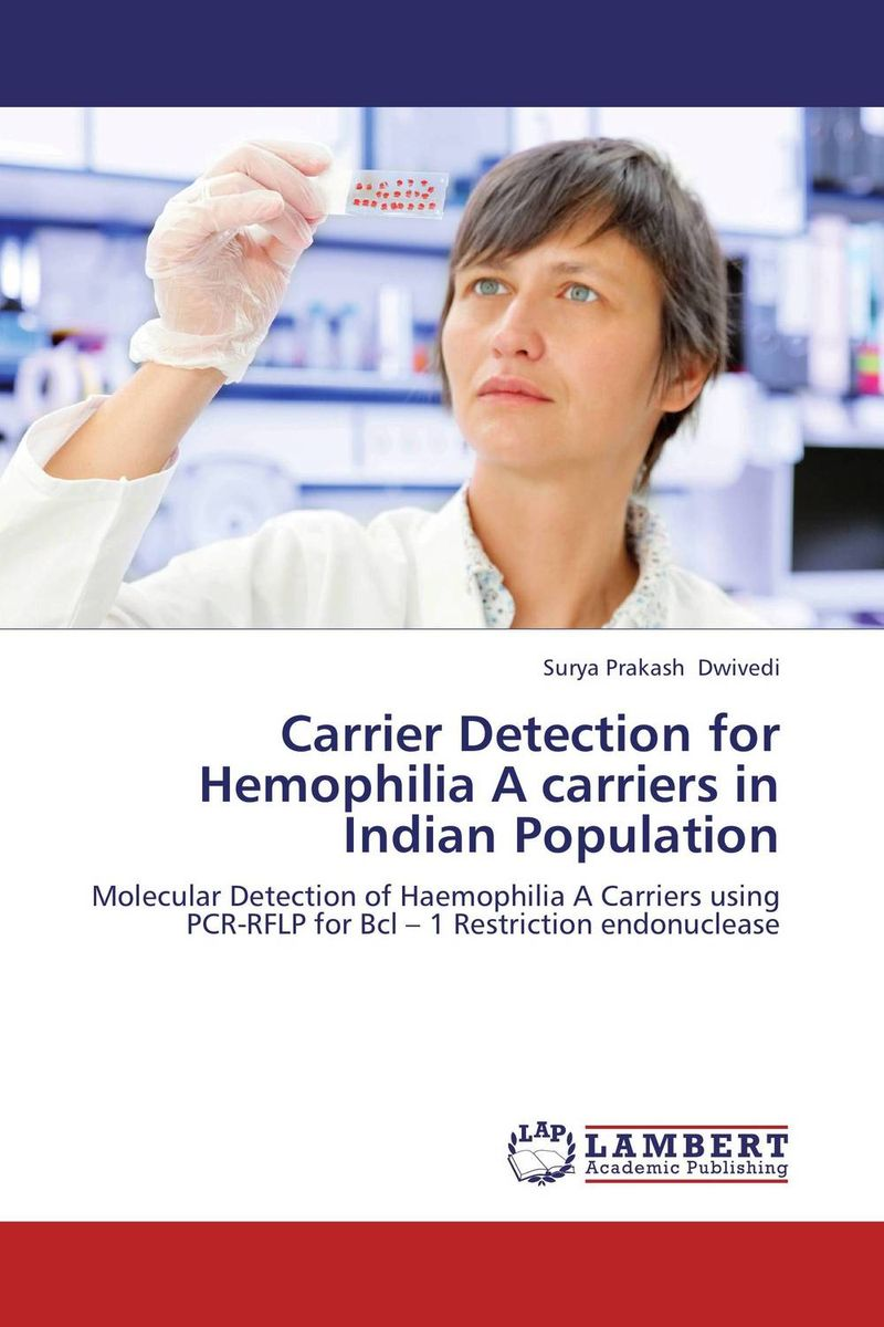 Carrier Detection for Hemophilia A carriers in Indian Population high quantity medicine detection type blood and marrow test slides