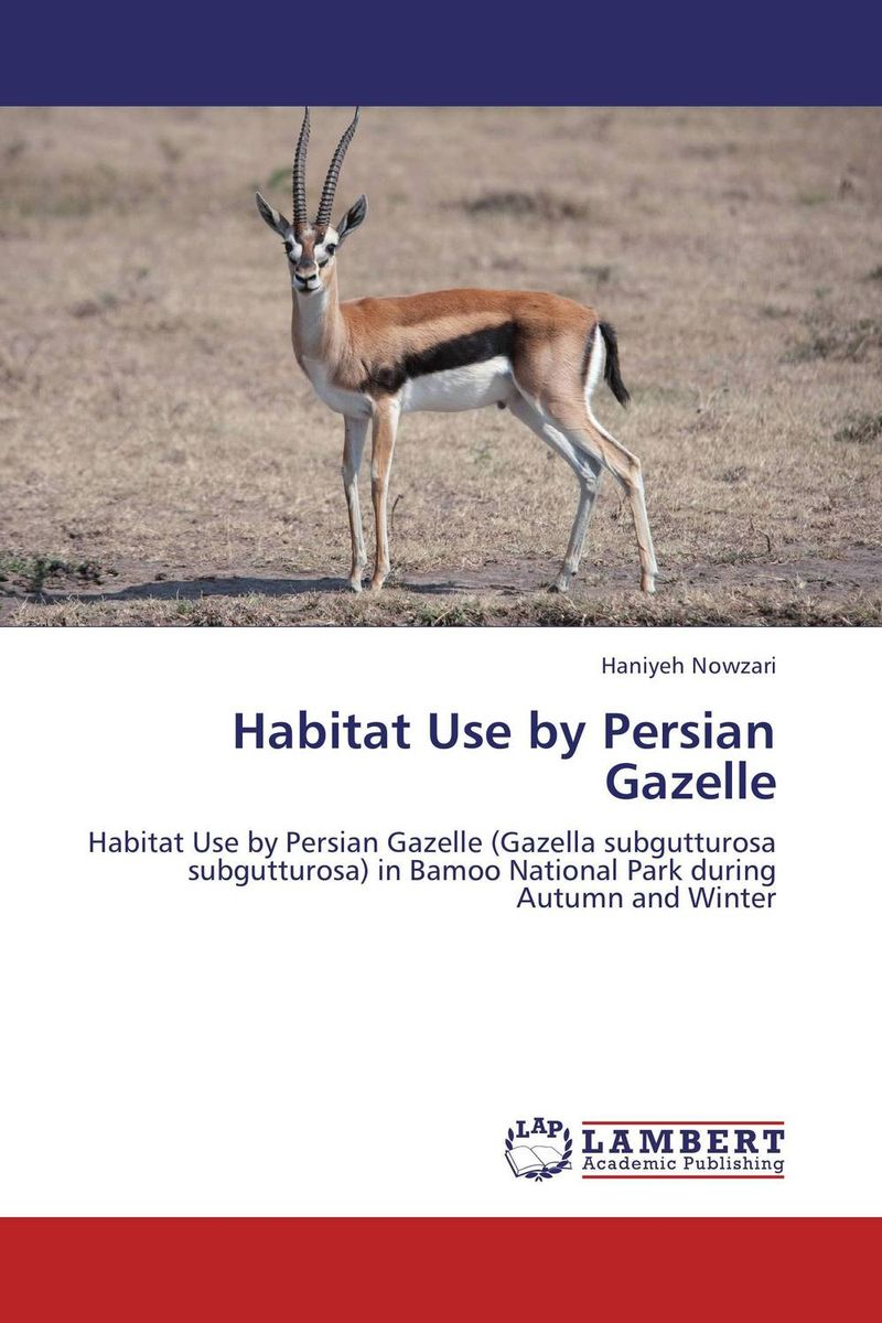 Habitat Use by Persian Gazelle yujin park urban habitat