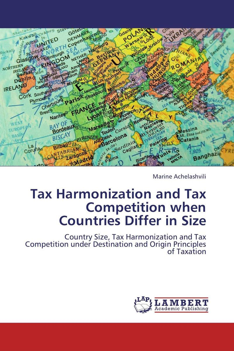 Tax Harmonization and Tax Competition when Countries Differ in Size