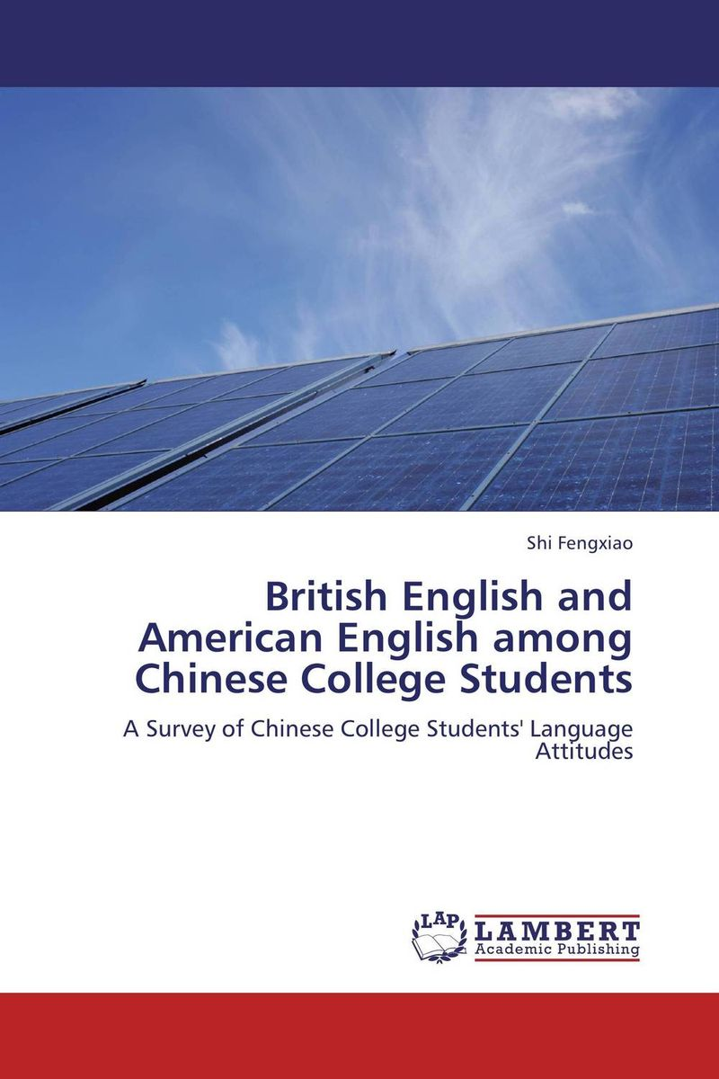 British English and American English among Chinese College Students купить