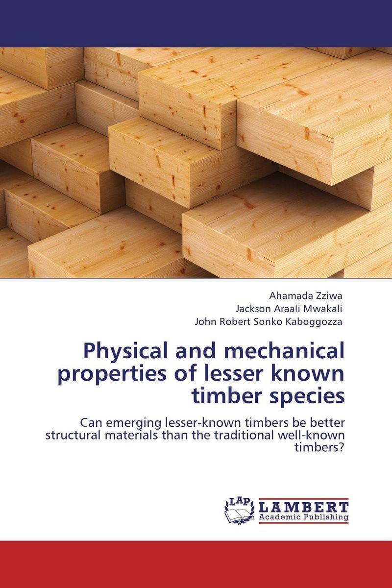 Physical and mechanical properties of lesser known timber species hina malik quantification of mechanical properties of mwcnts by sem analysis