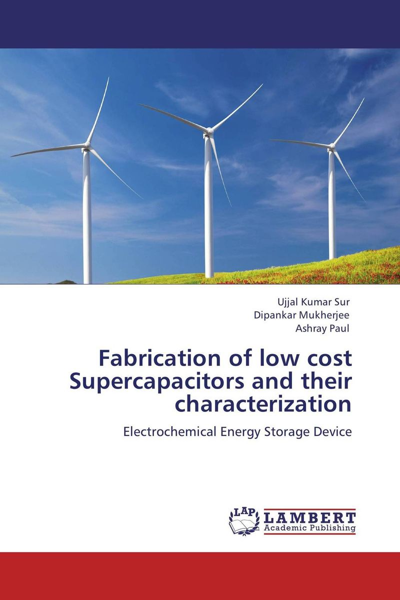 Fabrication of low cost Supercapacitors and their characterization extra fee cost just for the balance of your order shipping cost