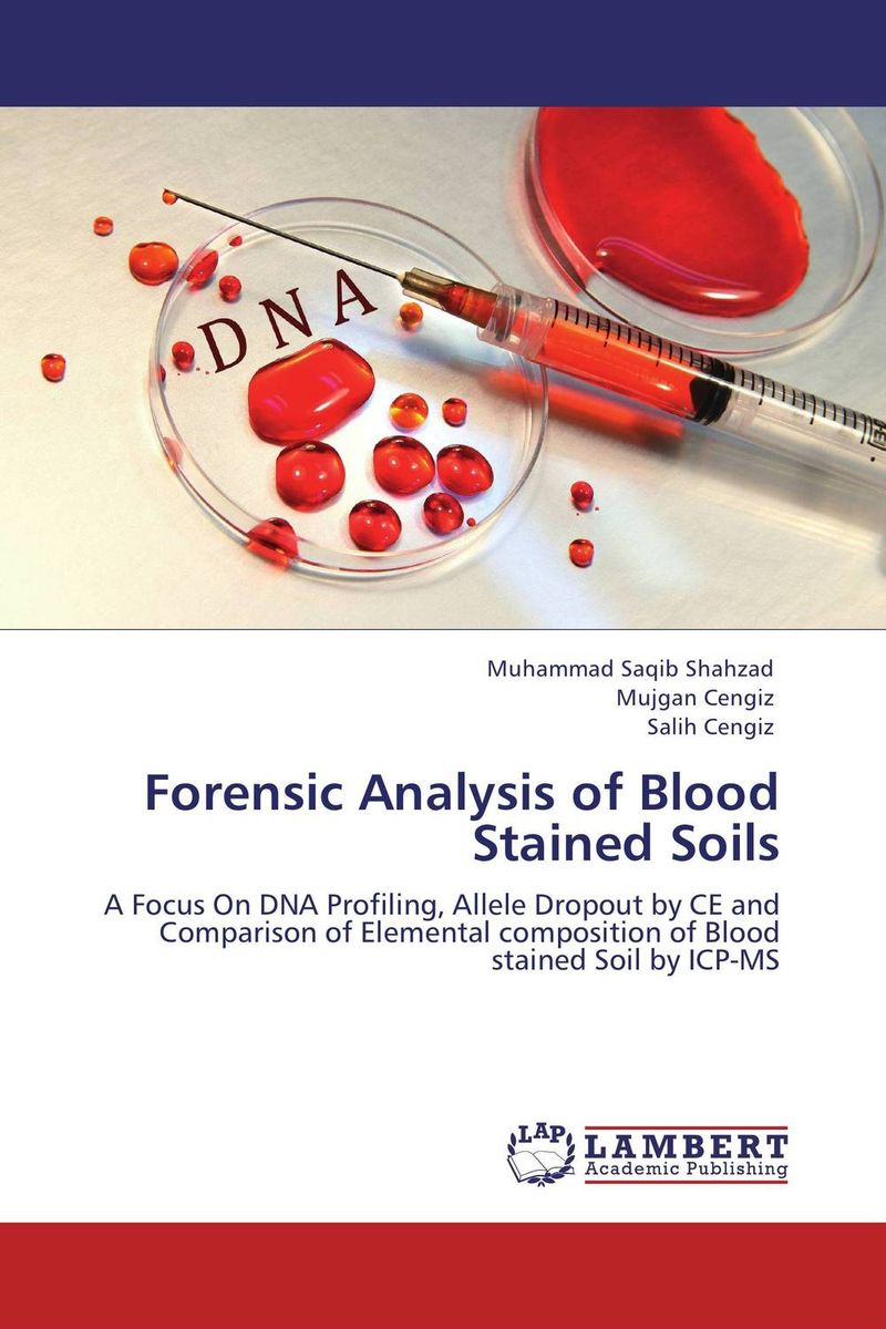 Forensic Analysis of Blood Stained Soils